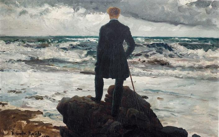 Hombre mirando al mar de tormenta - Friedrich Sorolla (1).jpg